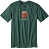 Patagonia M's Live Simply Mornings Tee Riparian Forest